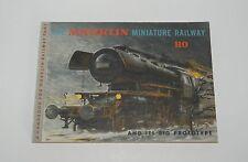 "MÄRKLIN MARKLIN H0 : 0311 manuale ""Marklin miniature Railway"" ENG ottimo : 1958"
