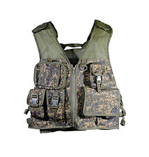Tippmann Pro Tactical Vest Paintball Camo Mesh Pod Pack Tank Pouch NEW