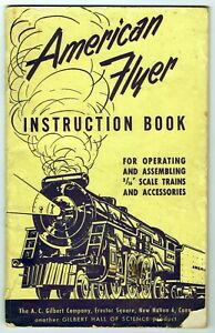 AMERICAN FLYER ~ 1952 Instruction Book for Model Trains