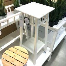 IKEA Banc pour Fleurs Petit Tabouret à Blanc Pflanzenbank Campagne Style Bois