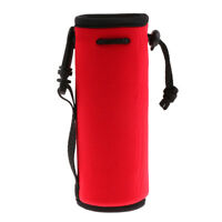 3pcs 500ml Portable Water Bottle Cooler Carrier Cover Sleeve Tote Bag Pouch