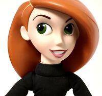 "Rare Disney Channel Kim Possible Collectors Doll Plush Body 8"" Equity Marketing"