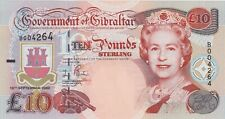 More details for p30 gibraltar ten pounds banknote dated 2002 in mint condition