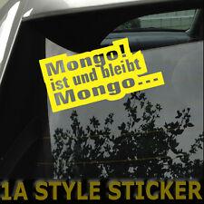 MONGO ist und bleibt Mongo Aufkleber  shocker haters fuck you jdm vag sticker rs