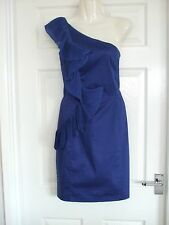 Z Womens Size 8 Blue Dress LADIES COCKTAIL SUMMER SMART EVENING FORMAL WINTER