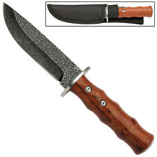 Drop Point Wild Boar Fixed Blade Stainless Steel Hunting Skinner Survival Knife