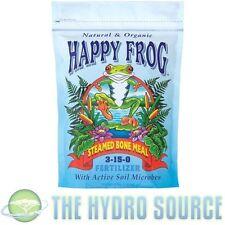 Fox Farm Happy Frog Steamed Bone Meal 4 lb Pound - organic foxfarm fertilizer