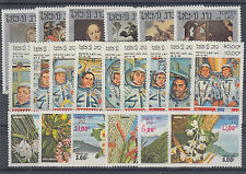 Laos Sc 442/472 MNH. 1983 issues, 3 cplt sets VF