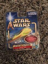 Star Wars Anakin Skywalker Action Figure Speeder 2002