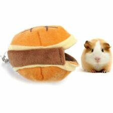 Guinea Pig Bed House Small Soft Pet Cozy Anti Drag Housing Warm Hamster Lair Bed