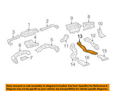 TOYOTA OEM 07-16 Camry Dash Heater-Floor Duct Tube Outlet Right 8721207040
