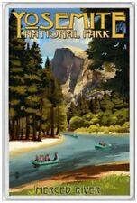 YOSEMITE NATIONAL PARK  - JUMBO FRIDGE MAGNET - CALIFORNIA SEIRRA NEVADA AMERICA