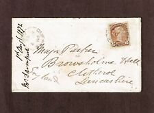 Canada 1872 6c Small Queen #39 paying preferred rate to England