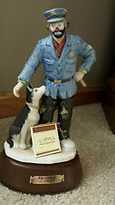"Emmett Kelly Jr ""Police Man� with Dog ~ Musical ""You've Got A Friend"" Rare ~ New"