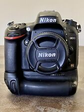 Nikon D610 24.3MP Digital SLR Camera w/Nikon MB-D14 Grip. Low shutter, 17xxx