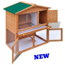 Yard Rabbit Hutch Pet Animal Guinea Pig Runner House Cage Farm Kennel Poultry