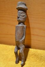Antique African Yaka Tribe Ancestor Figure Small Wood Fetish Statue Congo Africa