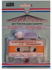 YUH Audio Cassette Tape Head Cleaner & Demagnetizer, WetType KC-02 1.70