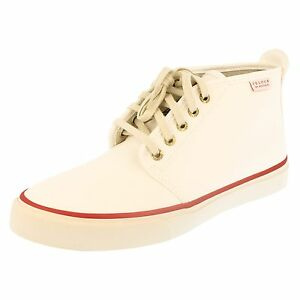 Mens Sperry Ankle Boots - Cloud Chukka White