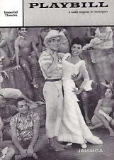 "Lena Horne ""JAMAICA"" Ricardo Montalban / Harold Arlen / Ossie Davis '58 Playbill"