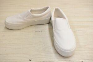 Superga 2306 COTU (S00FRB0) Slip On Sneaker, Women's Size 7M, White