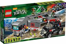 Lego TMNT 79116 Big Rig snow Getaway BNIB Teenage Mutant Ninja Turtles