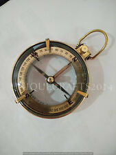 "Antique Nautical Brass Spencer Compass 3"" Ship Instrument Collectible Royal Item"