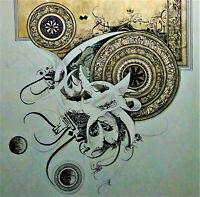 Islamic Arabic Quran 100% HANDMADE Calligraphy Artwork Home Decor Painting