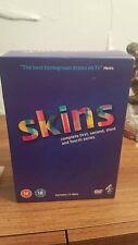 Skins - Series 1-4 - Complete (DVD, 2010, 12-Disc Set, Box Set)