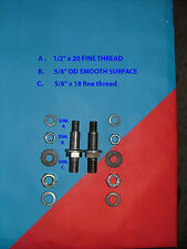 Heavy Duty shock mount / mounting bolts-street rod/hot rod/special build