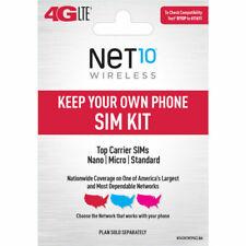 Net10 Wireless Keep Your Own Phone 3-in-1 Prepaid Sim Kit