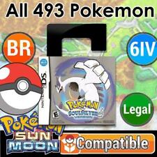 Unlocked Pokemon Soul Silver | All 493 Shiny Pokemon + Max Items | DS 3DS