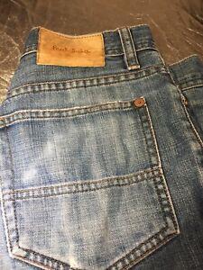 Paul Smith Button Denim Shorts Men's Size32/33 Waist Plz See Measurements