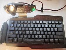 Mad Catz Modular Gaming Keyboard - Cyborg S.T.R.I.K.E Strike 5( FOR PARTS )
