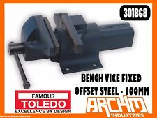 TOLEDO 301868 - BENCH VICE FIXED BASE OFFSET STEEL - 100MM