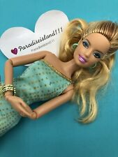 Barbie Fashionistas Summer Articulated 2011 Gold & Teal