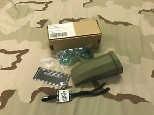 BLPS BALLISTIC LASER PTOTECTIVE SPECTACLES NSN 8465-01-416-3207 GREEN GOGGLES