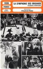 FICHE CINEMA : LA SYMPHONIE DES BRIGANDS - Rosay,Sonja 1936 The Robber Symphony