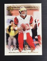 2000 Private Stock #128 TOM BRADY Rookie Football Card SSP /278 - MINT