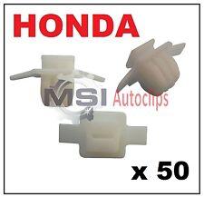50 X HONDA CIVIC & CRV PASSARUOTA stampaggio tagliare clip di fissaggio