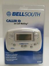 Bell South Telephone Caller Id on Call Waiting Ci30 White 99 Number Memory New