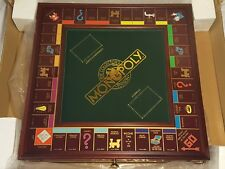 NEW (Read) The Franklin Mint 1991 Collector's Edition Monopoly Board Game - Read