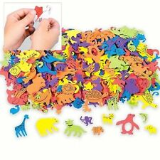 Assorted Animal Shapes Foam Self Adhesive Craft Stickers Art Supplies