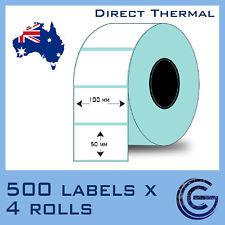 100x50 mm 2000pcs for Zebra, TSC, Datamax Barcode Label Roll Sticker Rolls Lable