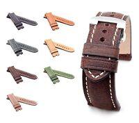 BOB Marino Vintage Calf Deployment Strap for Panerai, 24/22 mm, 7 colors, new!