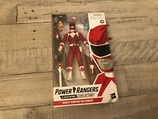 Power Rangers Lightning Collection Red Ranger MMPR IN HAND Hasbro Mighty Morphin