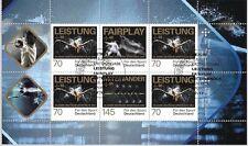 Allemagne Mi.N° 3307-3309 (2017) oblitéré (Feuille Miniature)/Aide sportive