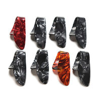 Hot 2X Celluloid Thumb Picks Finger Picks Plettro Band Mix CRIT