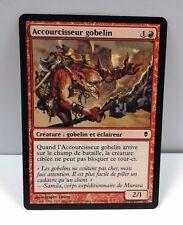 carte magic the gathering mtg - accourcisseur gobelin - zendikar