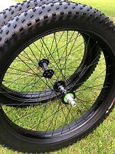 """Fat bike wheel set Stout XC 80,26"""",alloy,76mm internal width, disc-specific"""